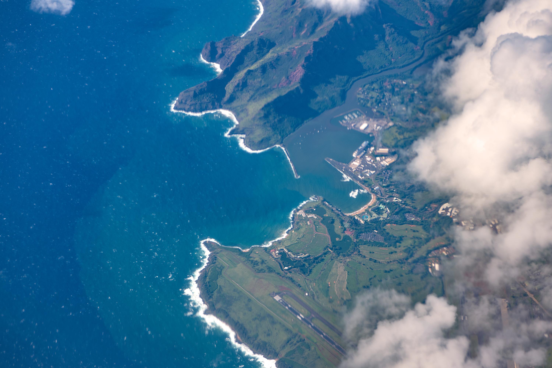 Nawiliwili bay, Kauai Island