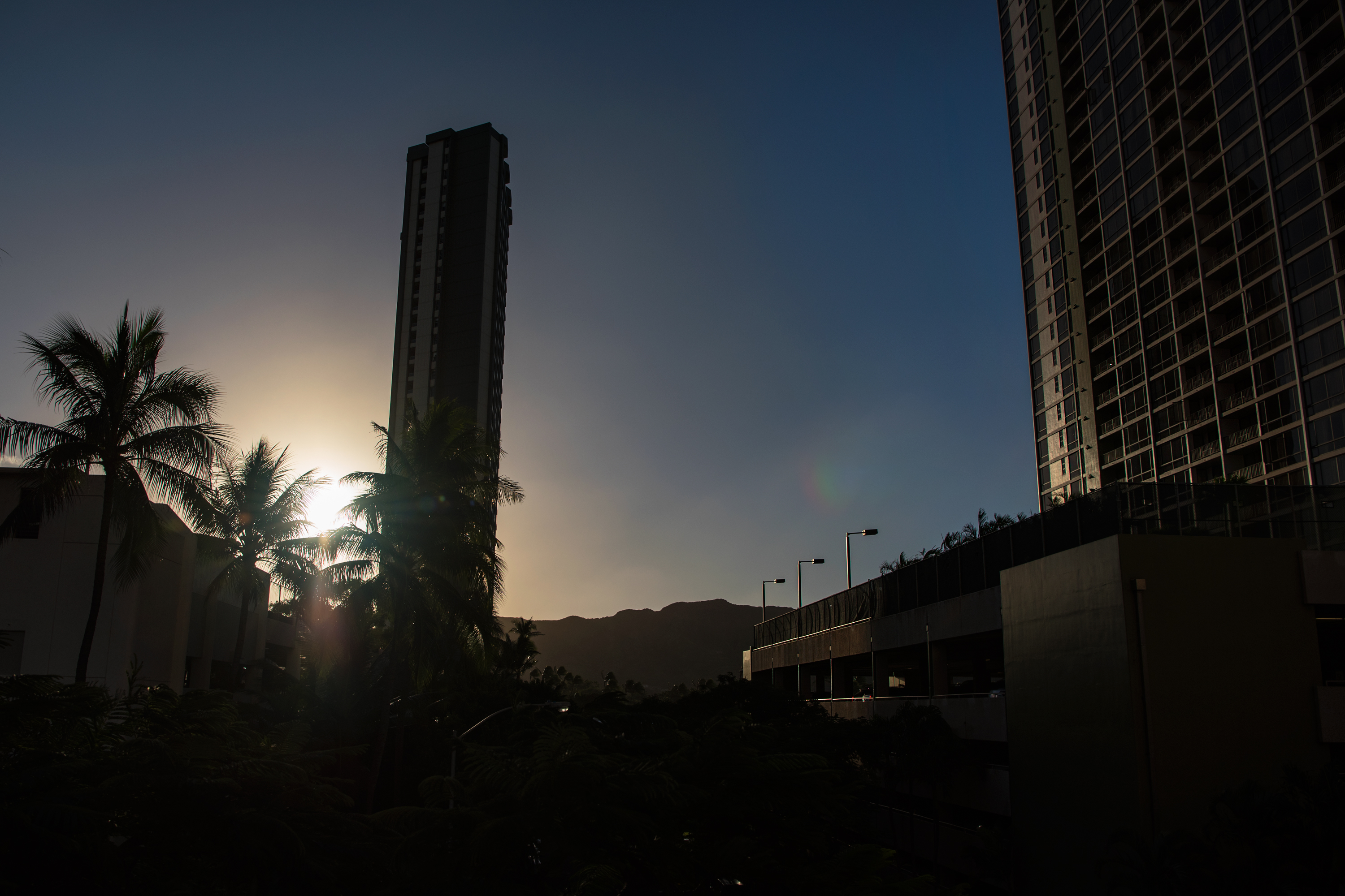 Sunrise at Waikiki