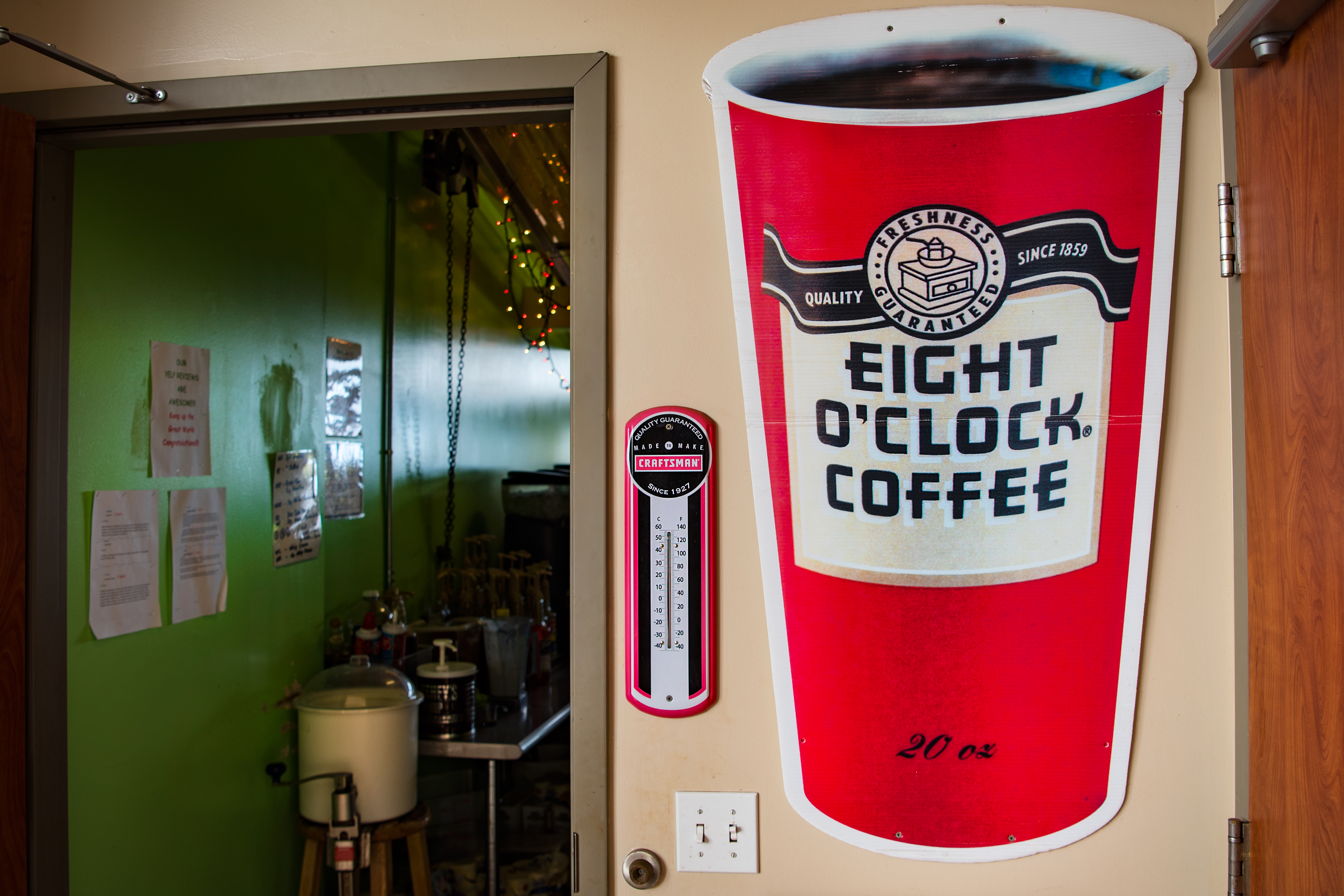 Eight O'Clock Coffee