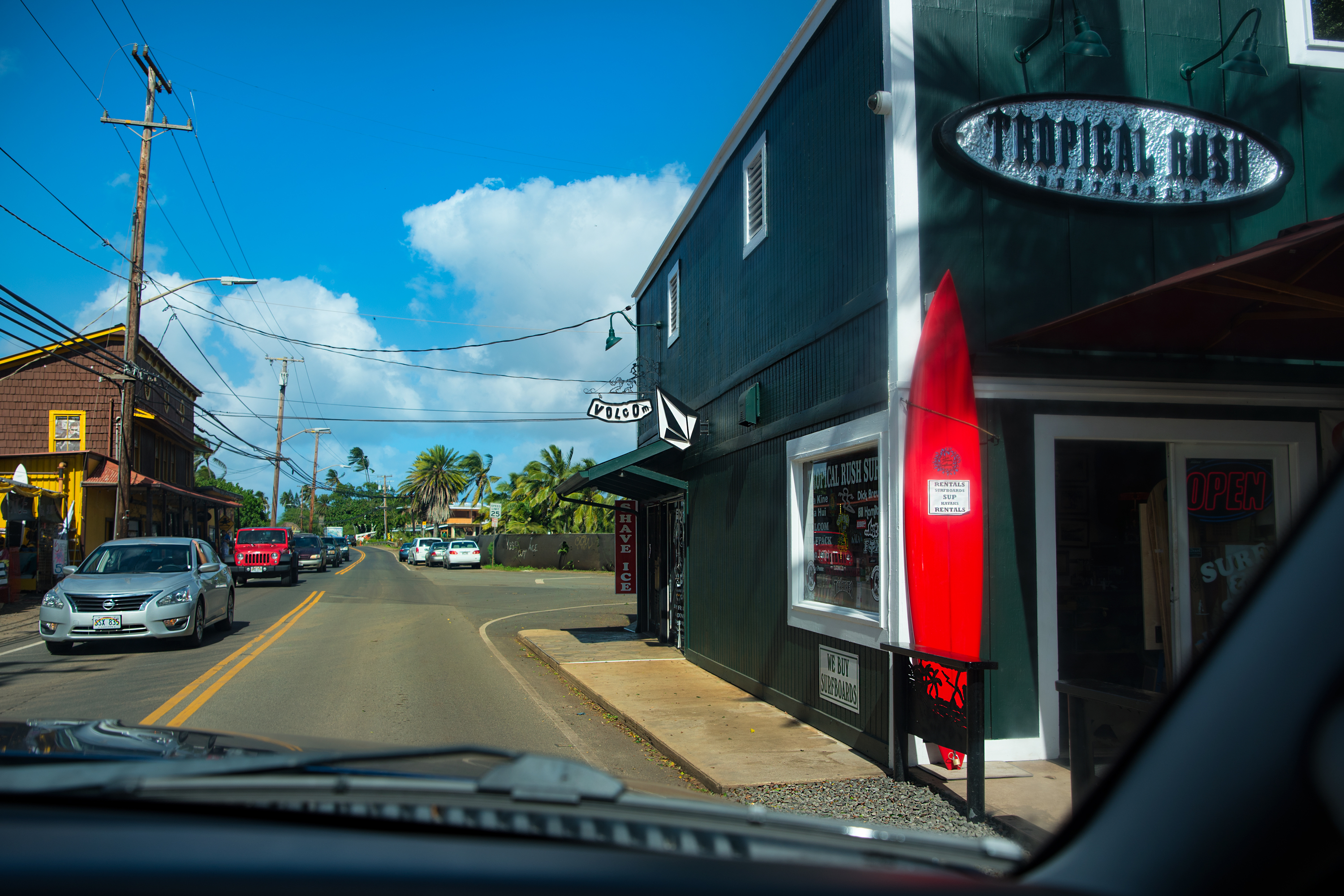 Surfshop in Haleiwa