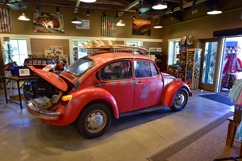 Classic Beetle in Souvenir shop