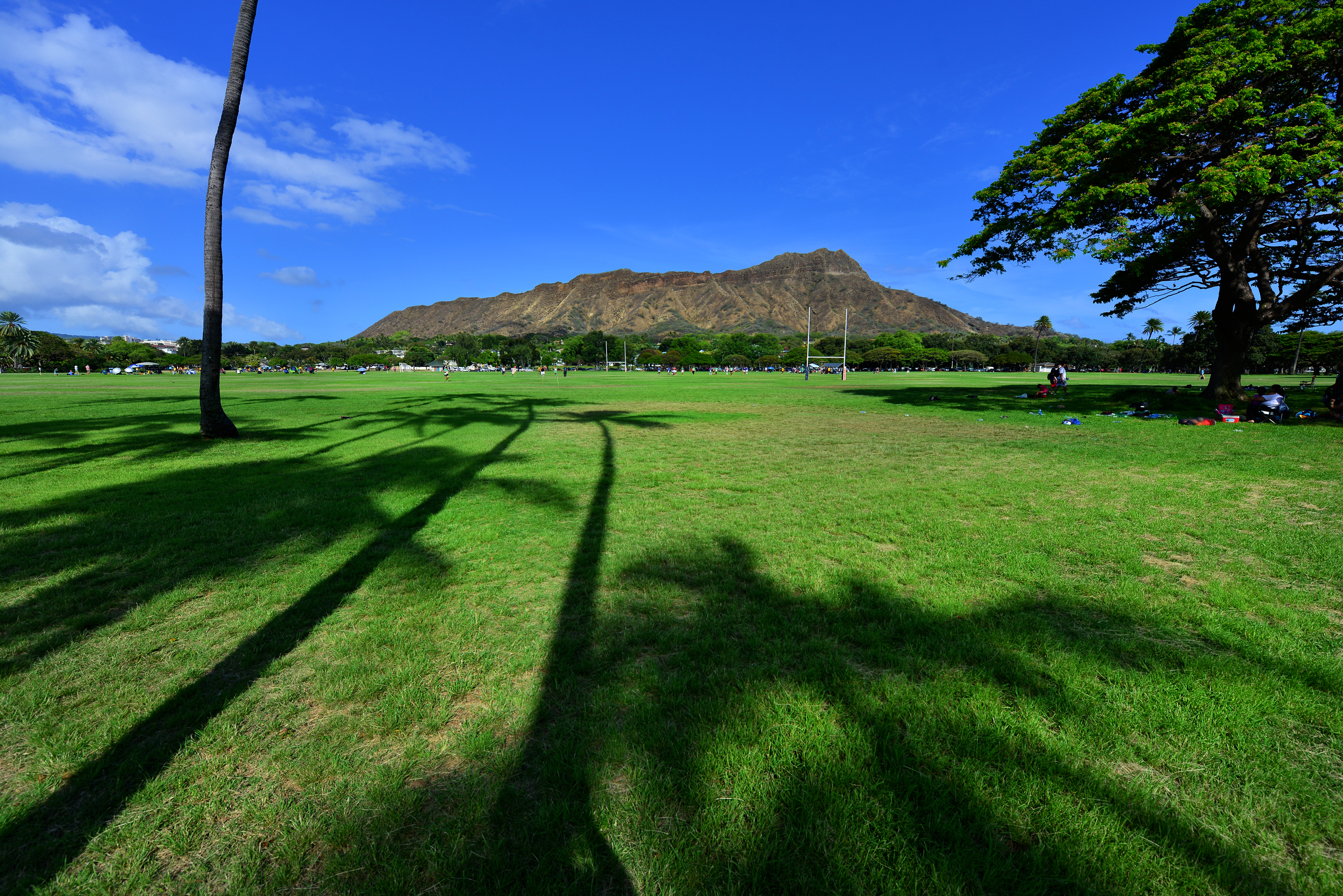 The Diamond Head, Kapiolani Park