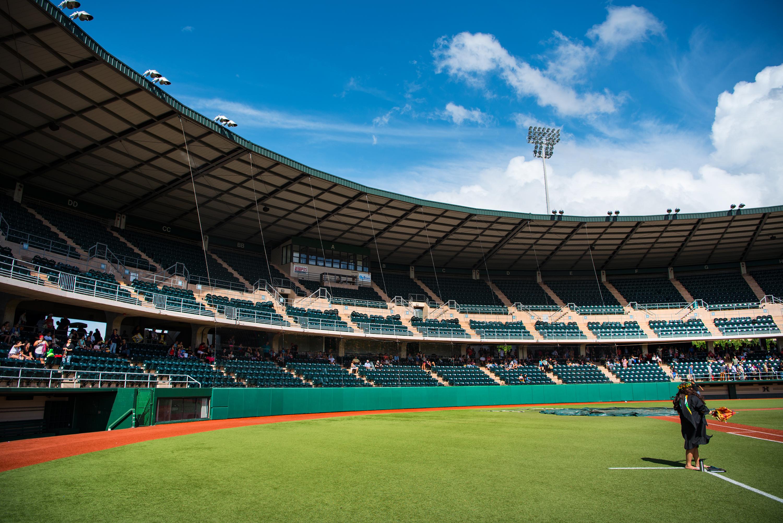 Les Murakami Baseball Stadium in UH