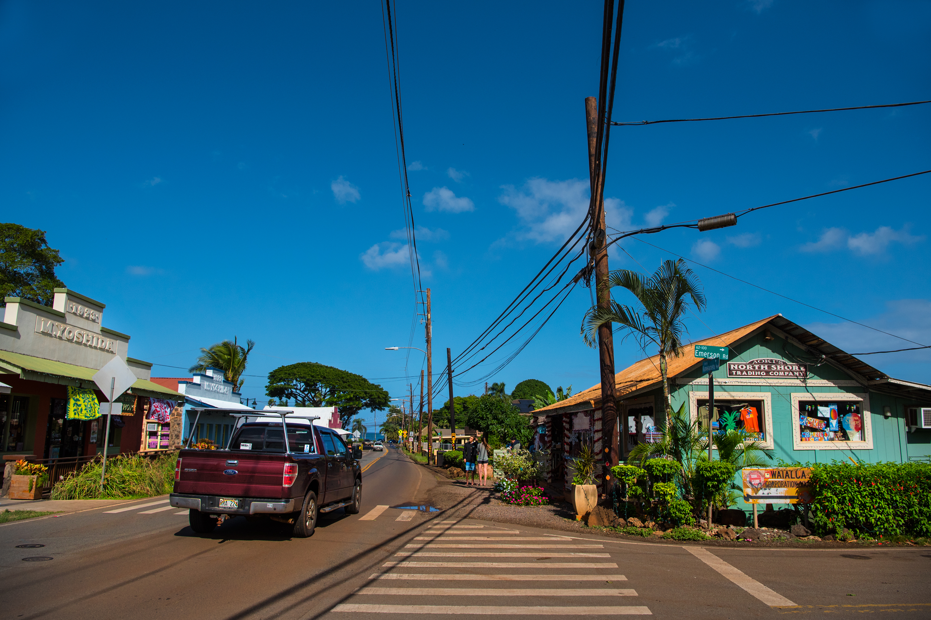 Scene of Haleiwa