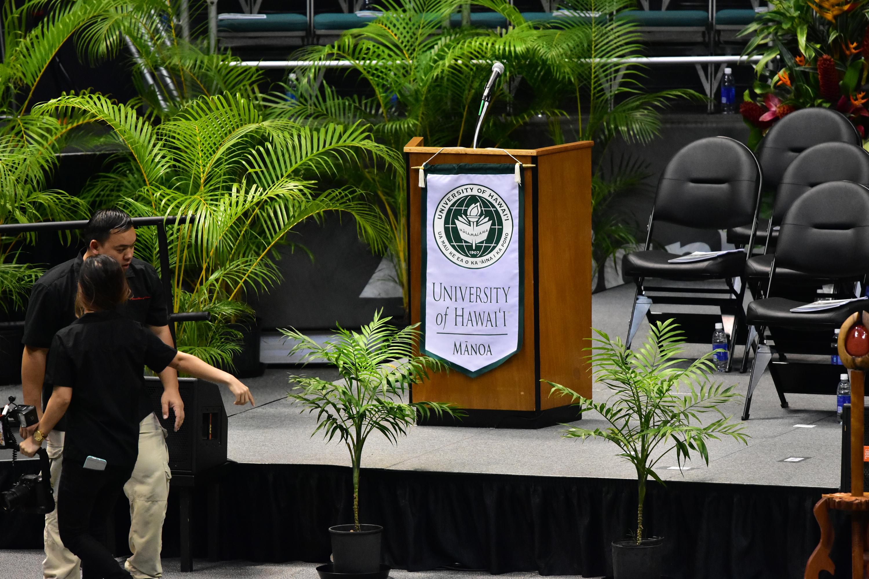 before The Graduation Ceremony