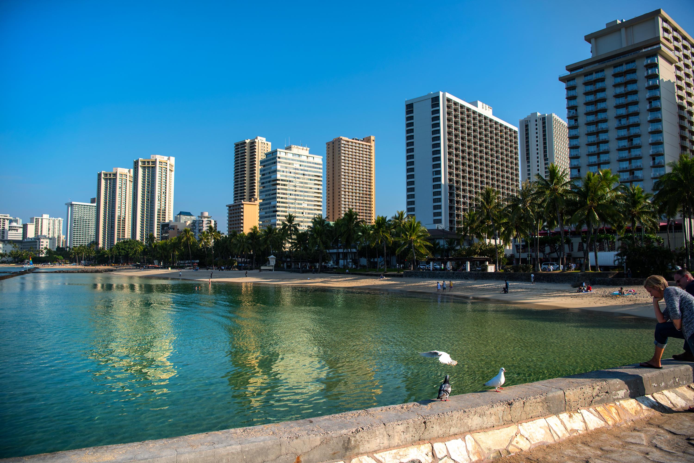 Clear Waikiki Beach