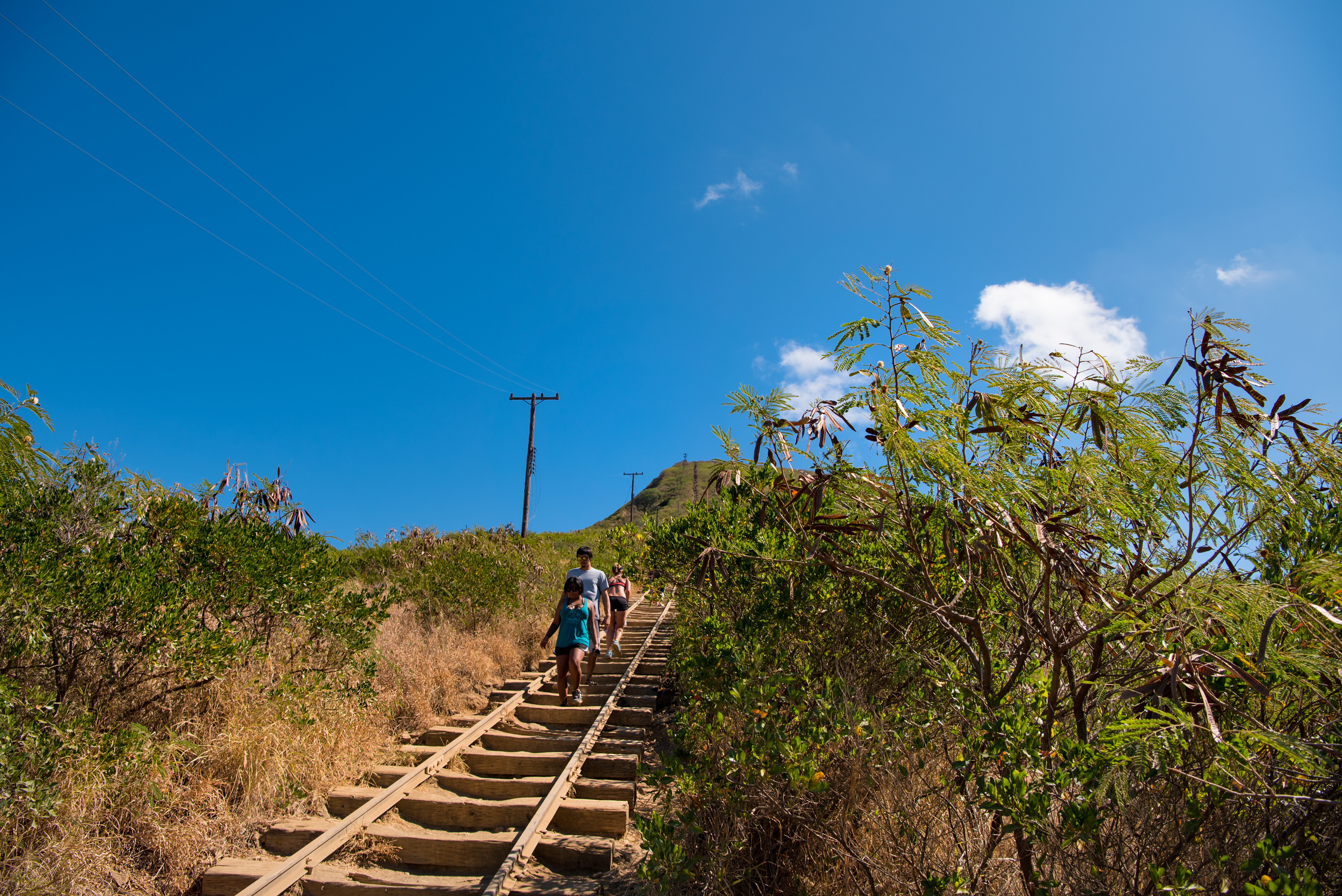 Clear Koko Crater Trail