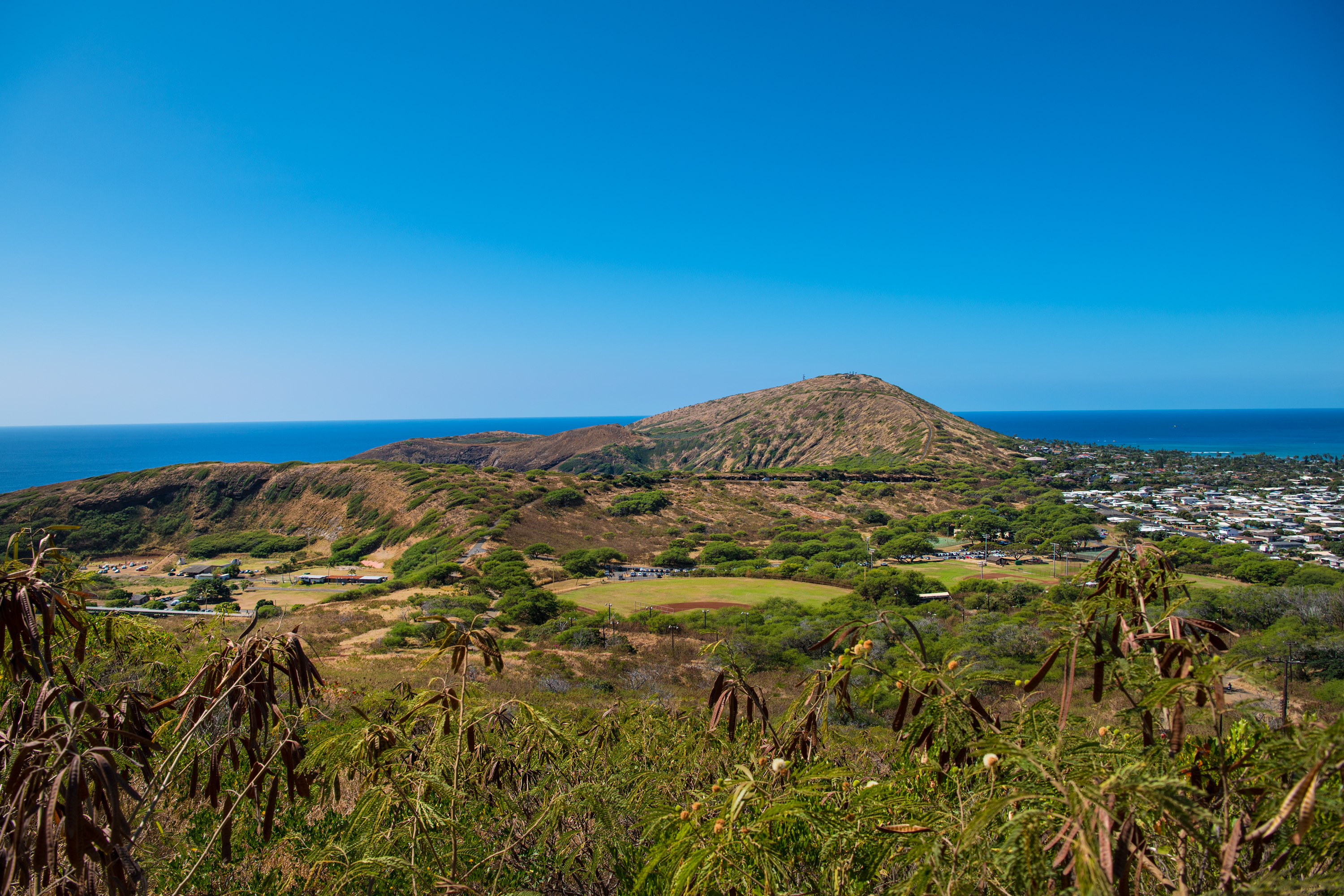 from Koko Crater
