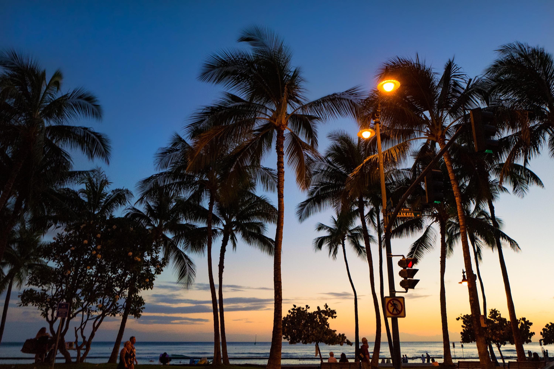 Just after Sunset, Kalakaua