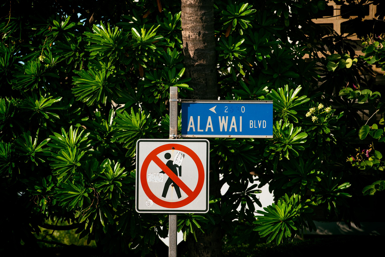Street Sign, AlaWai