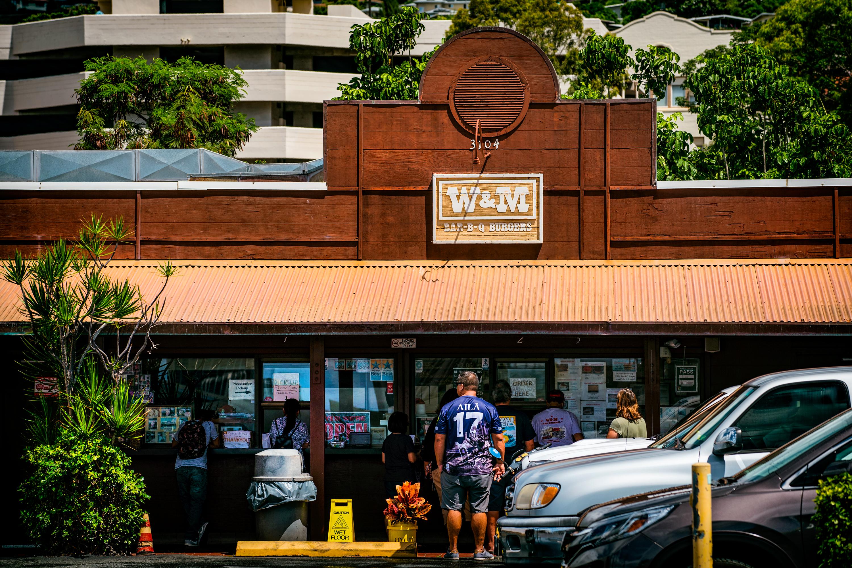 W&M BBQ Burgers, Waialae