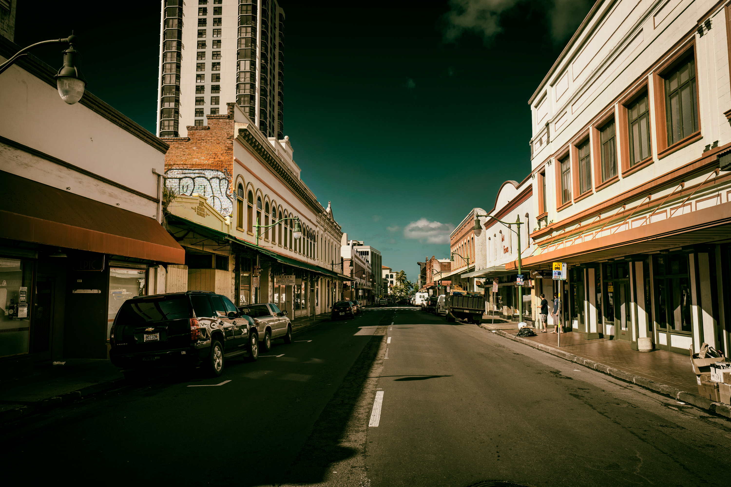 Nuuanu Ave. at Afternoon