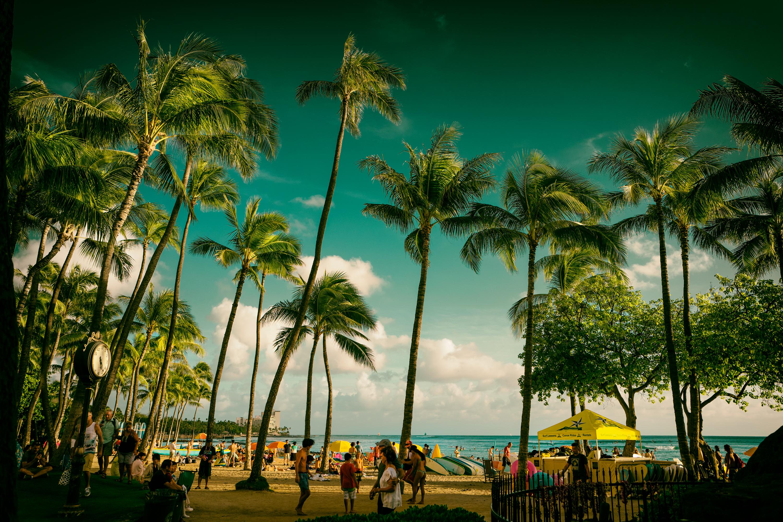 Waikiki Beach at 17:23