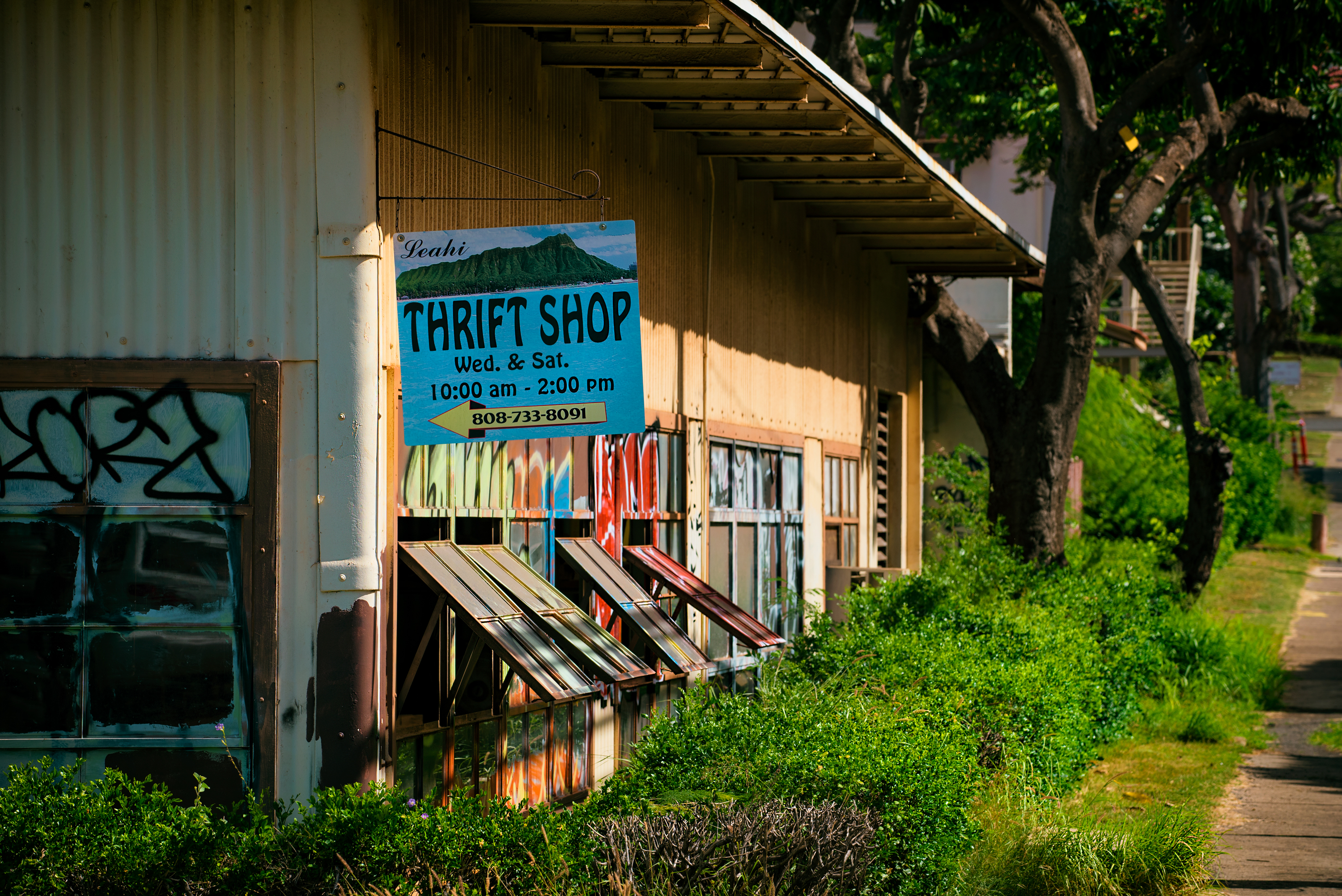 Leahi Thrift Shop, Makapuu Ave.