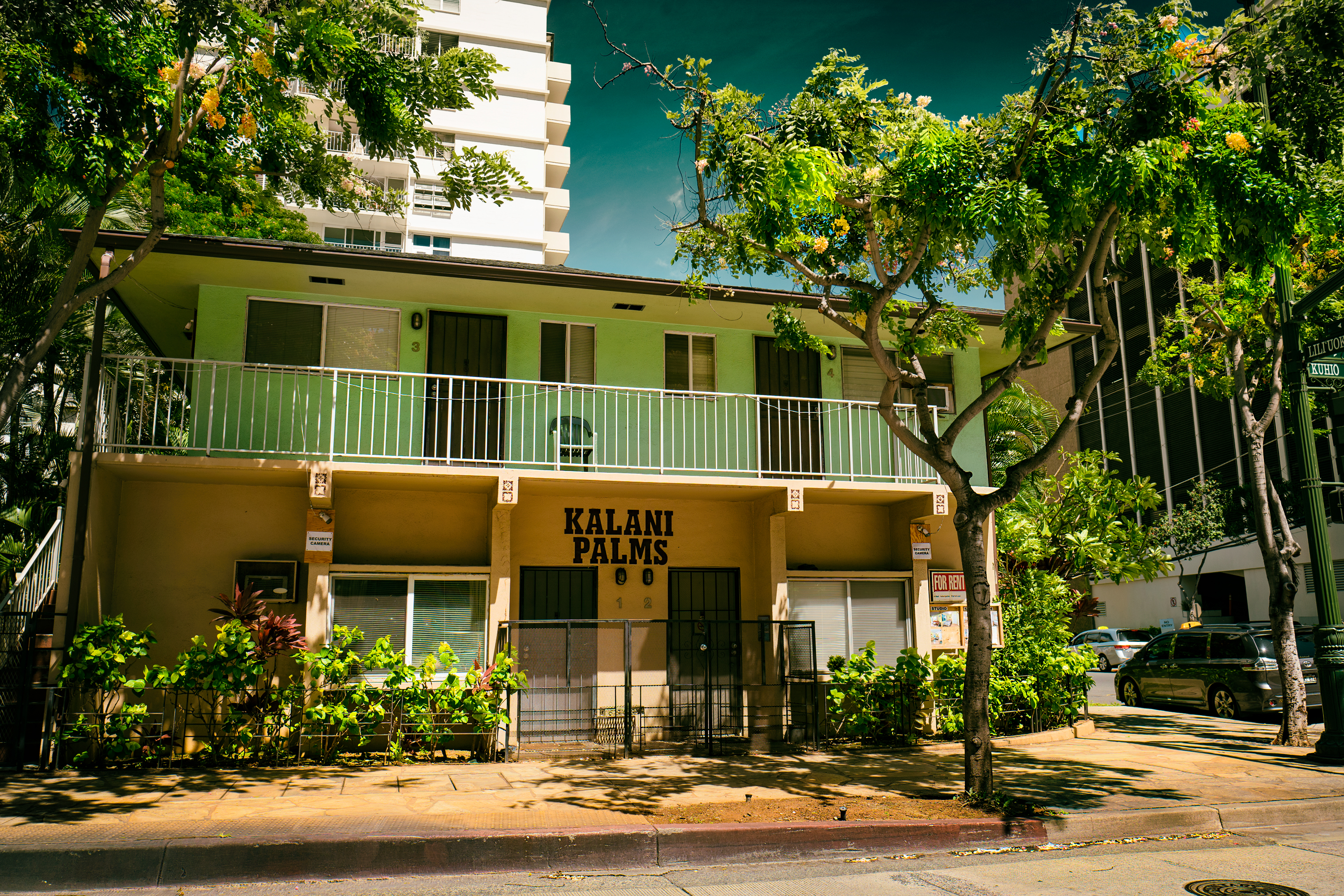 Apartment House in Kuhio