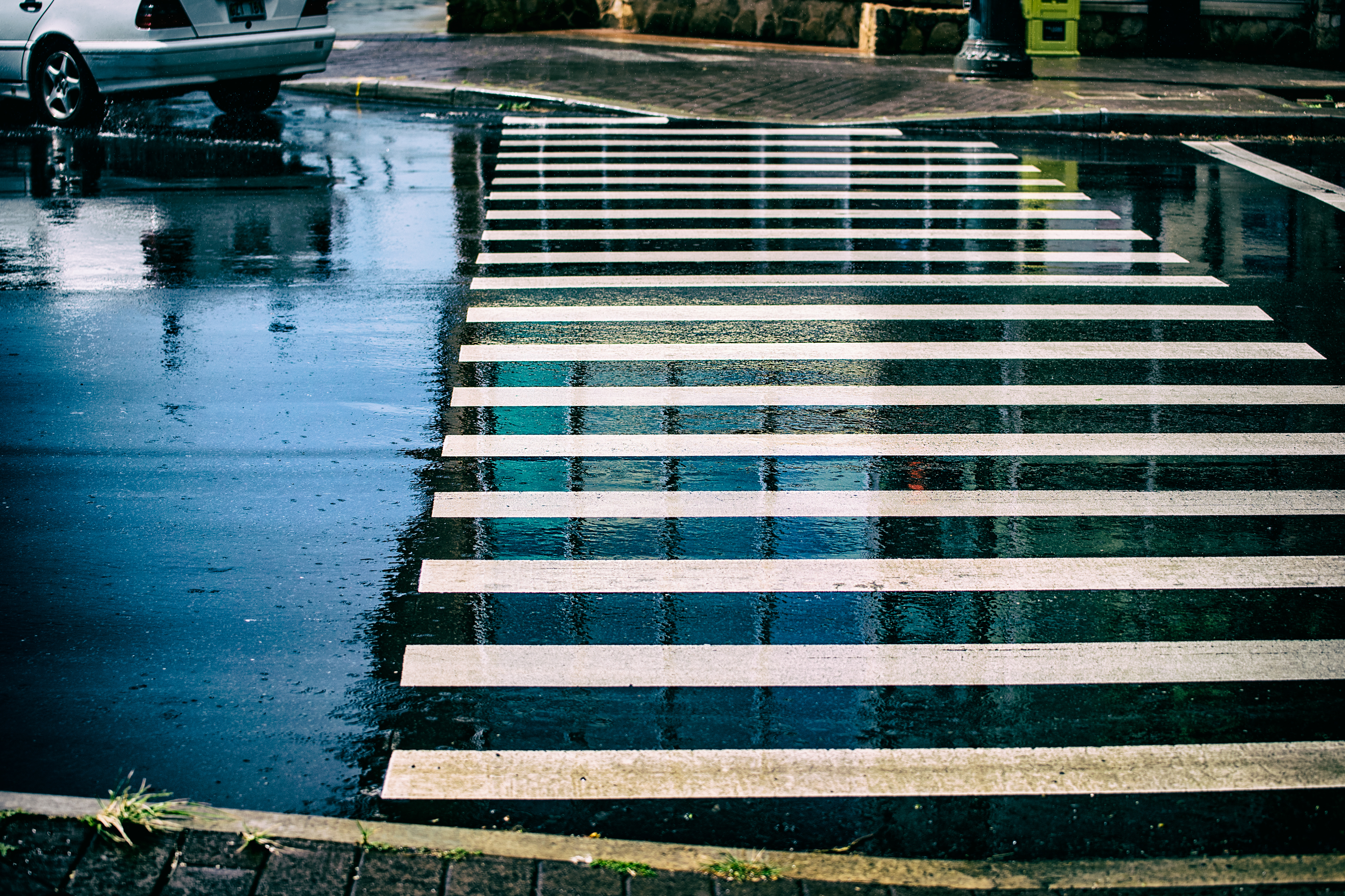 Crosswalk after the Rain