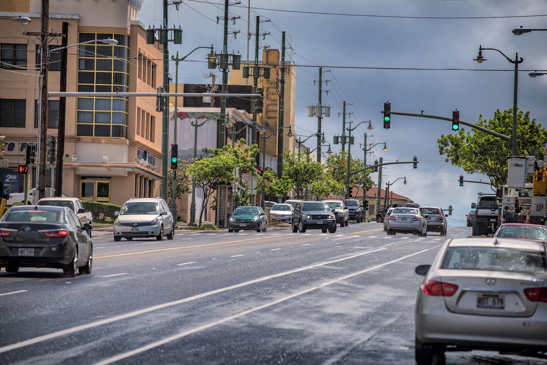 Go Uphill, Waialae Ave.