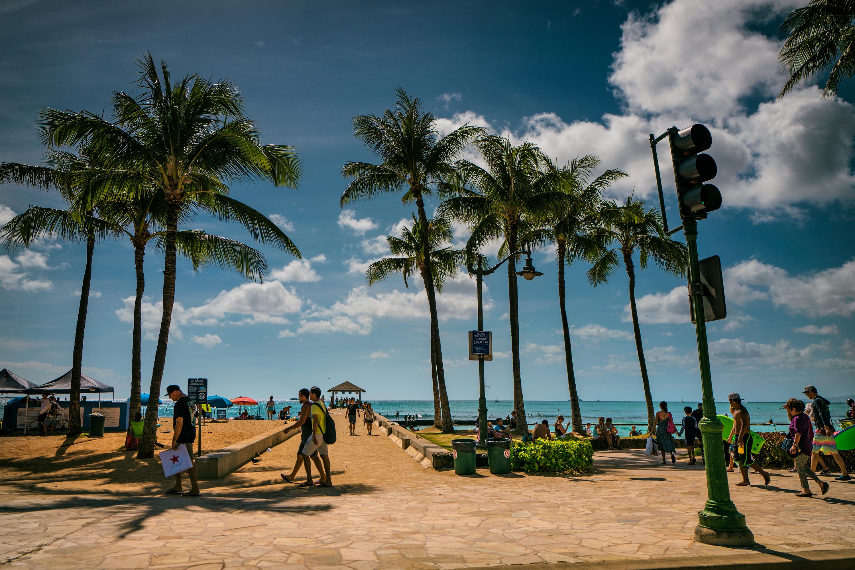 To Waikiki Wall
