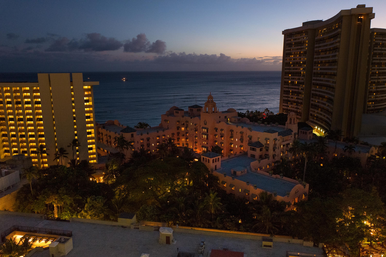 Sky Waikiki Night View