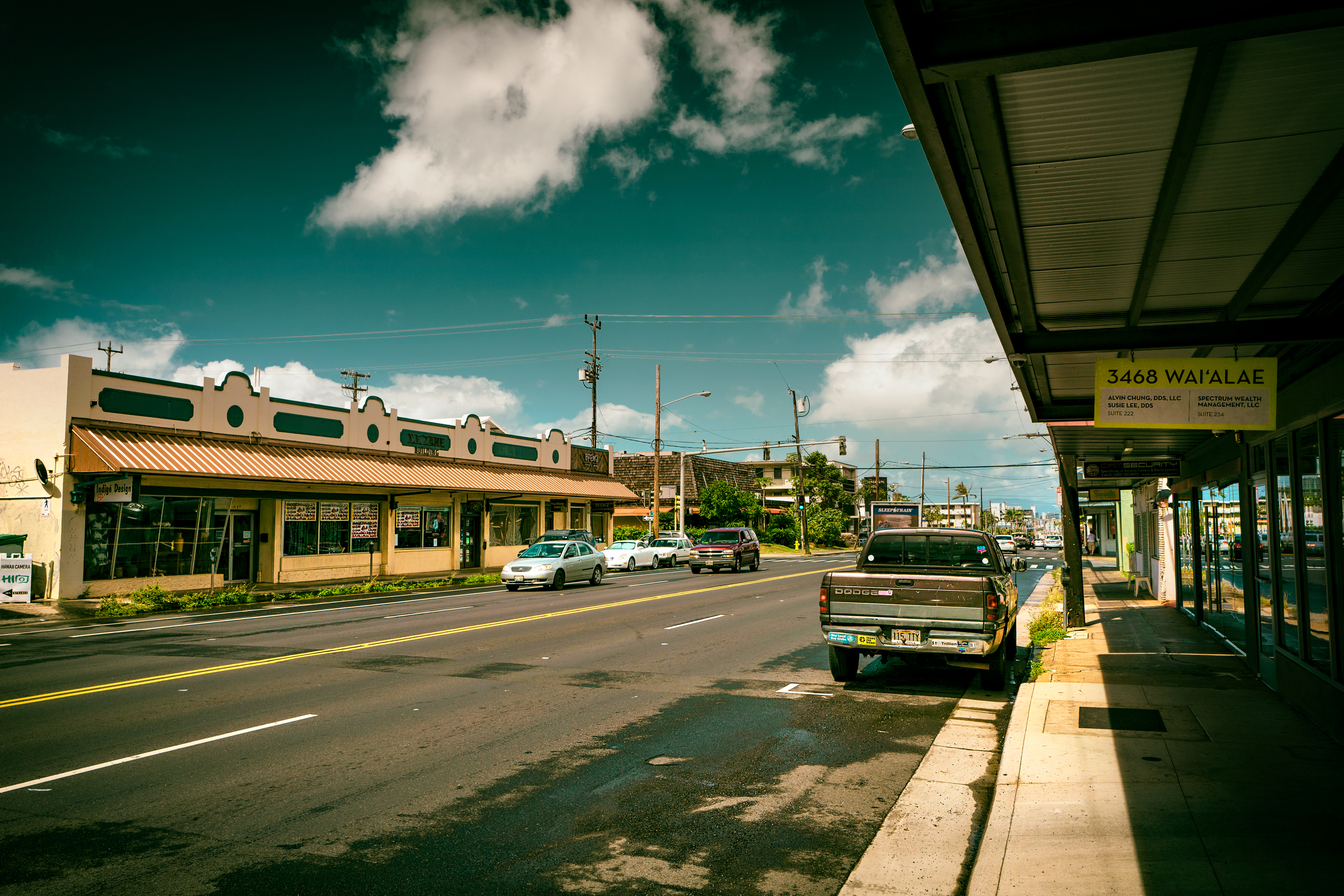 Afternoon Waialae Ave.