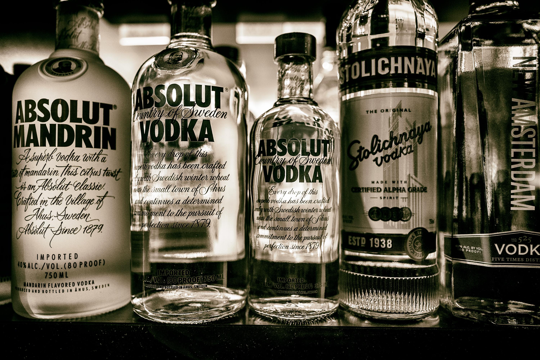 Liquor Shop Window