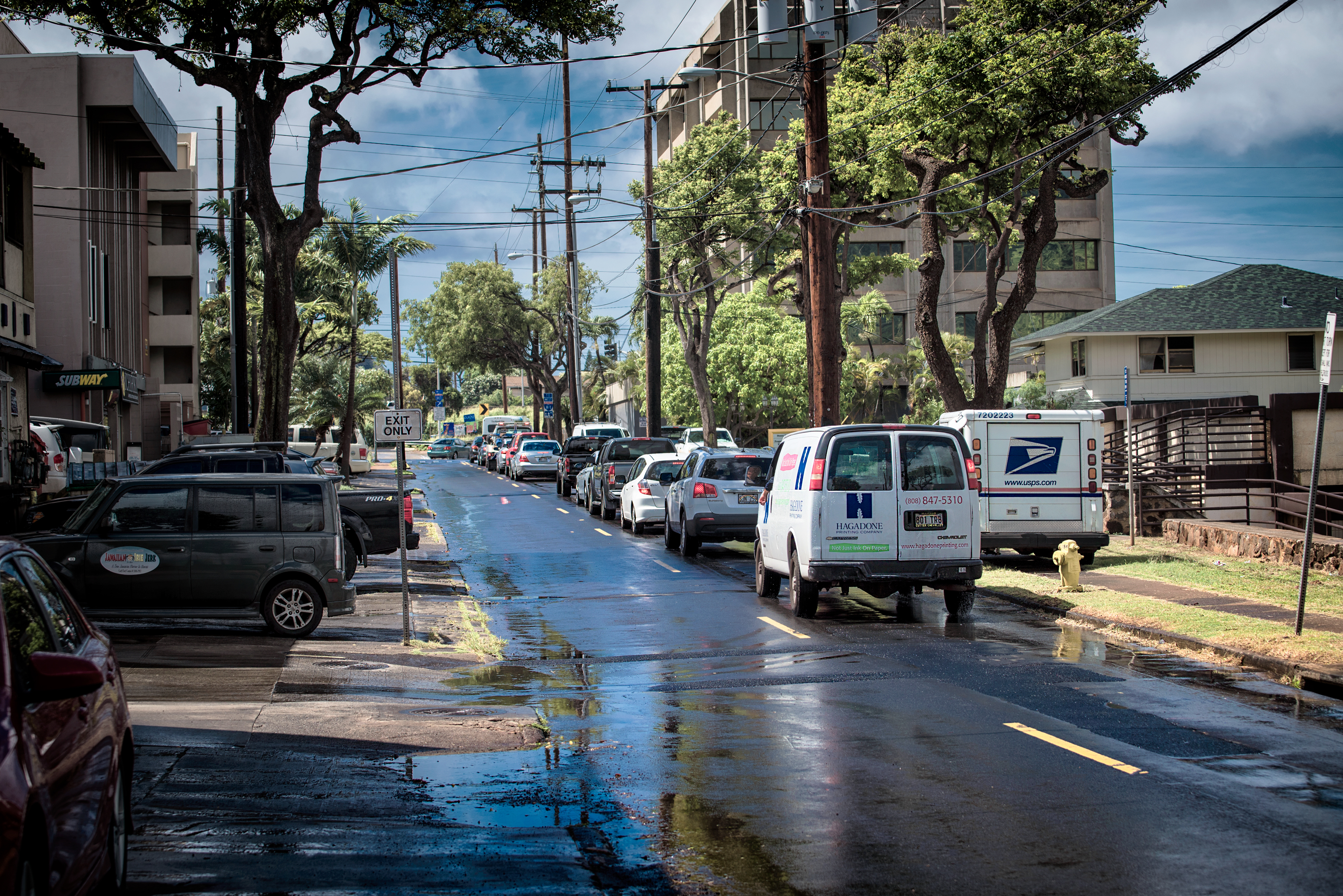 After Shower 11th Ave. Kaimuki