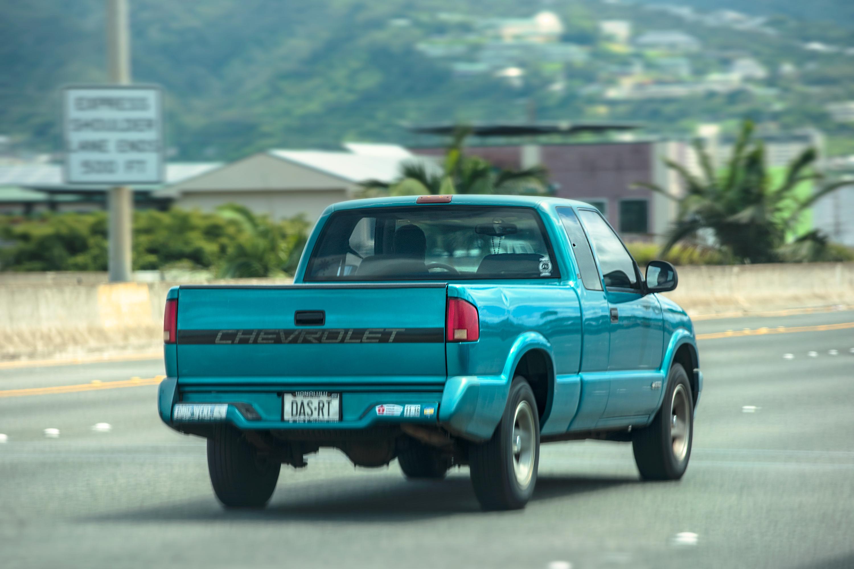 Blue Pickup
