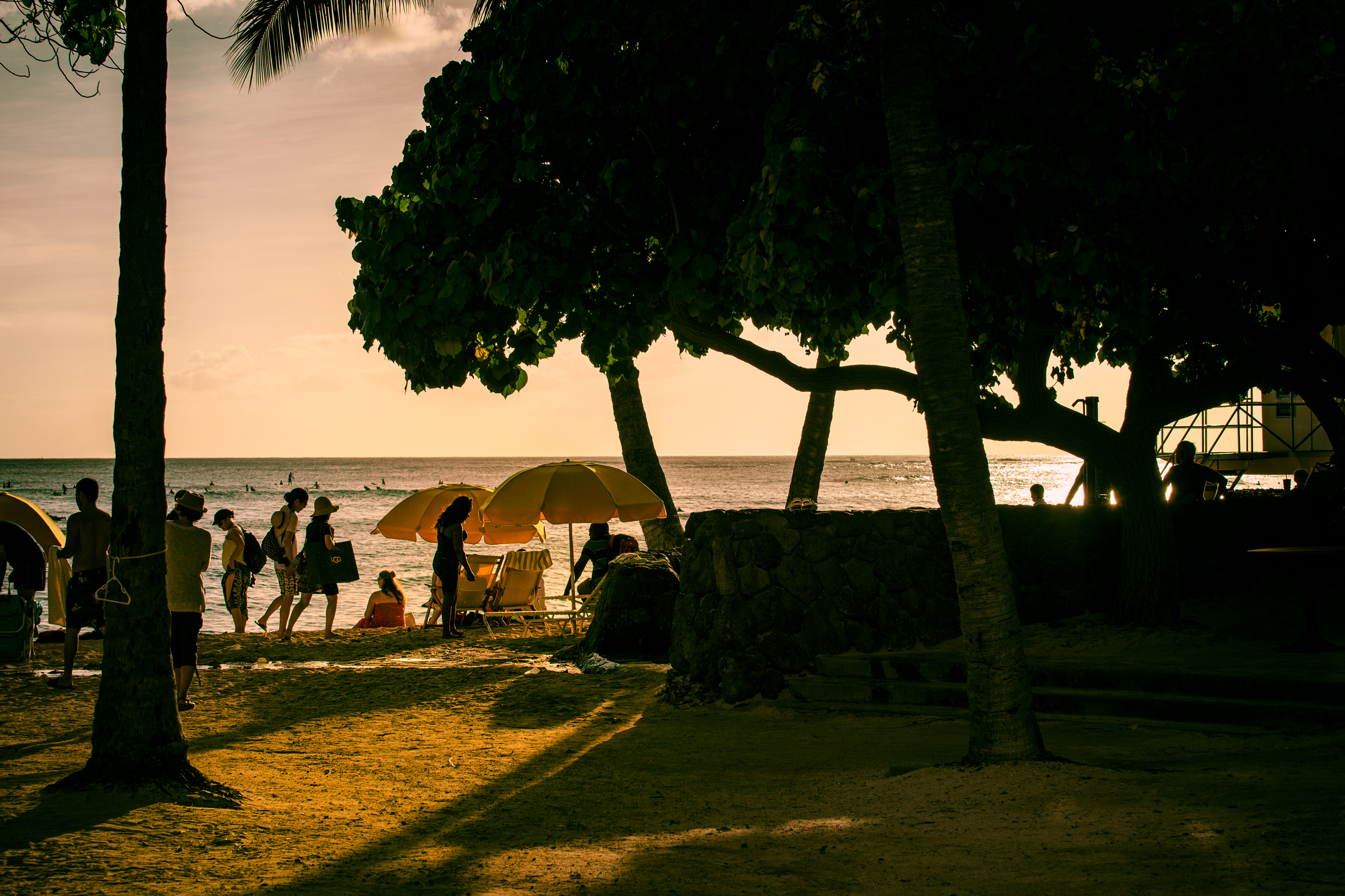 Before Sunset, Waikiki