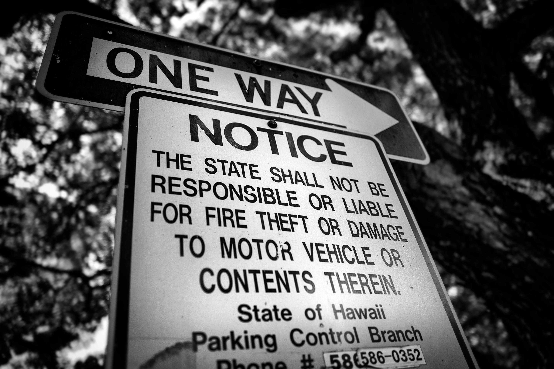 One Way Notice