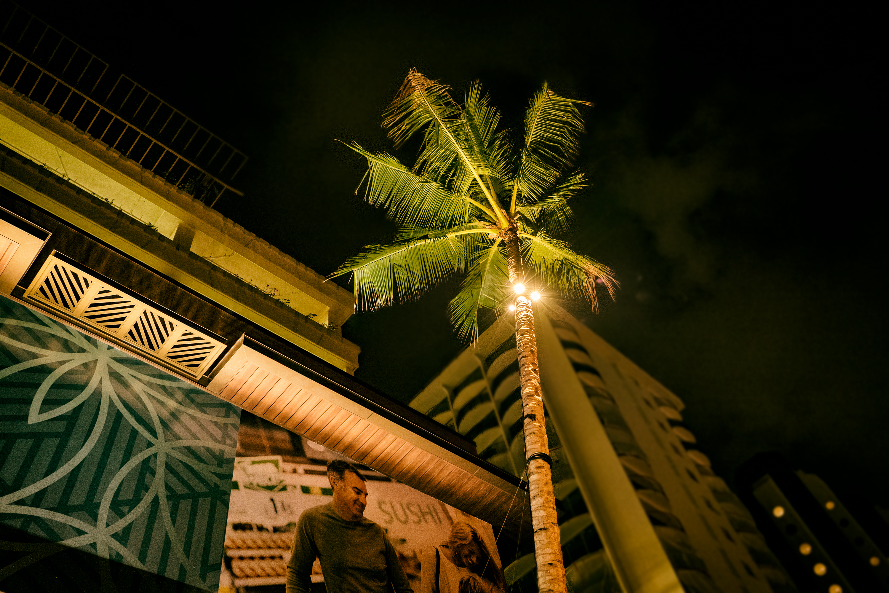 Night in Waikiki