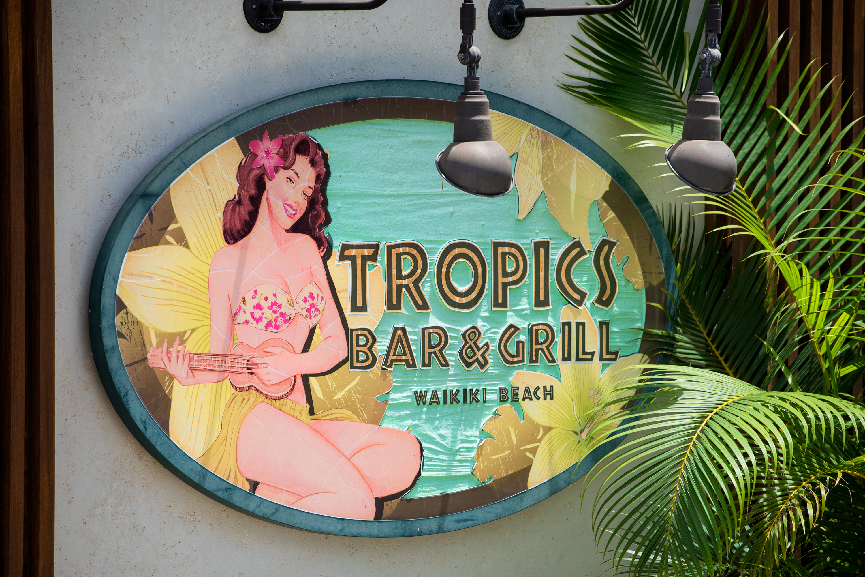 Tropical Sign