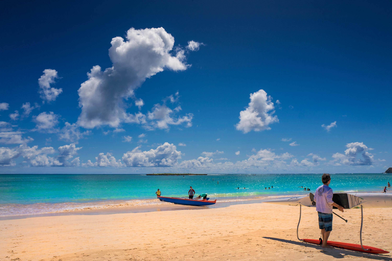 Bright Kailua Beach