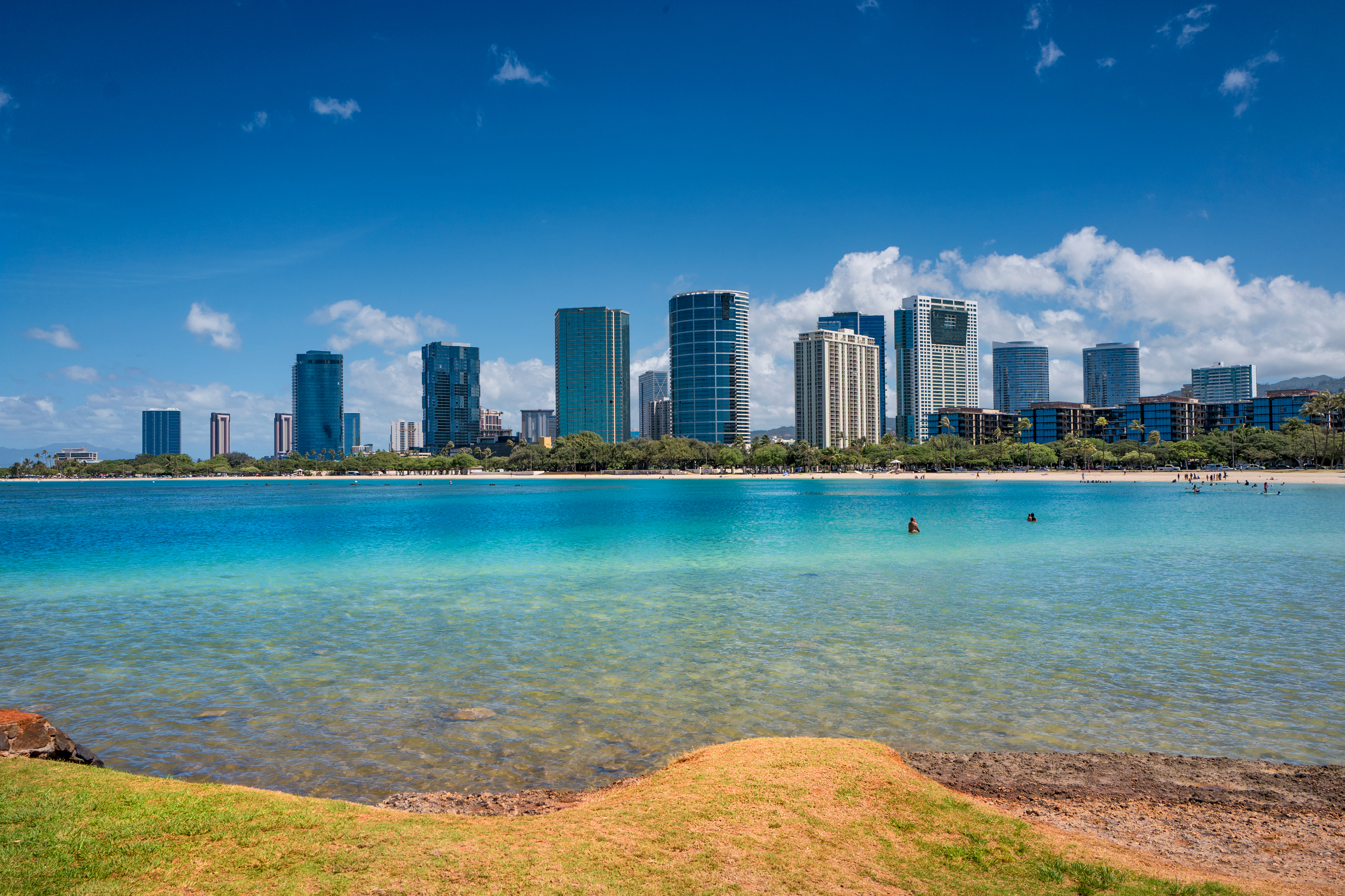 AlaMoana Beach View