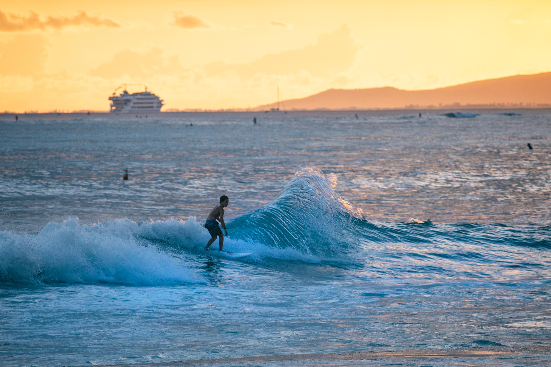 Kids Surfer