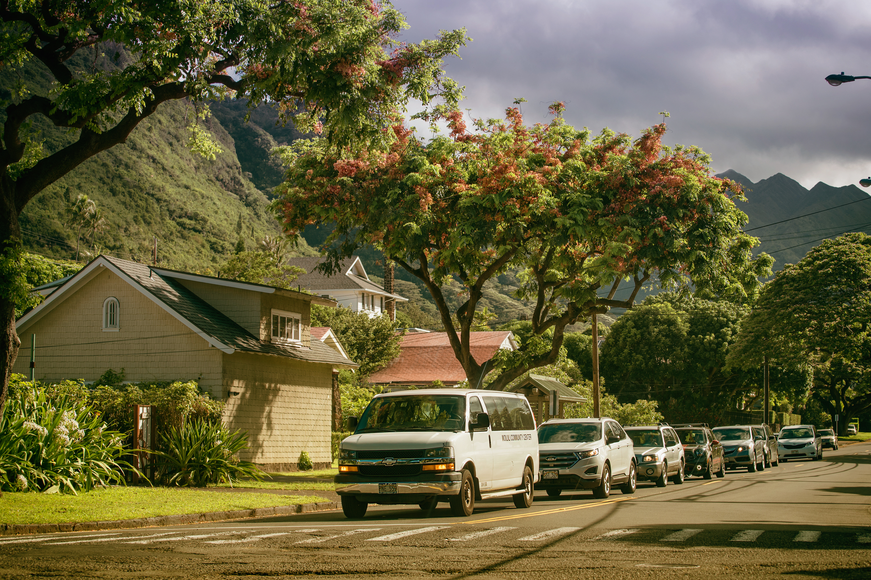 Oahu Ave. Manoa
