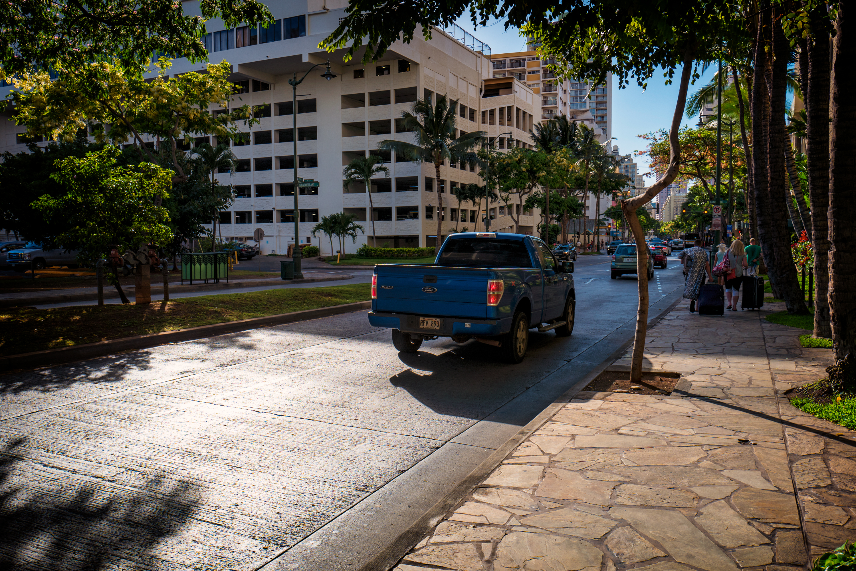 Late Afternoon, Kuhio Ave.