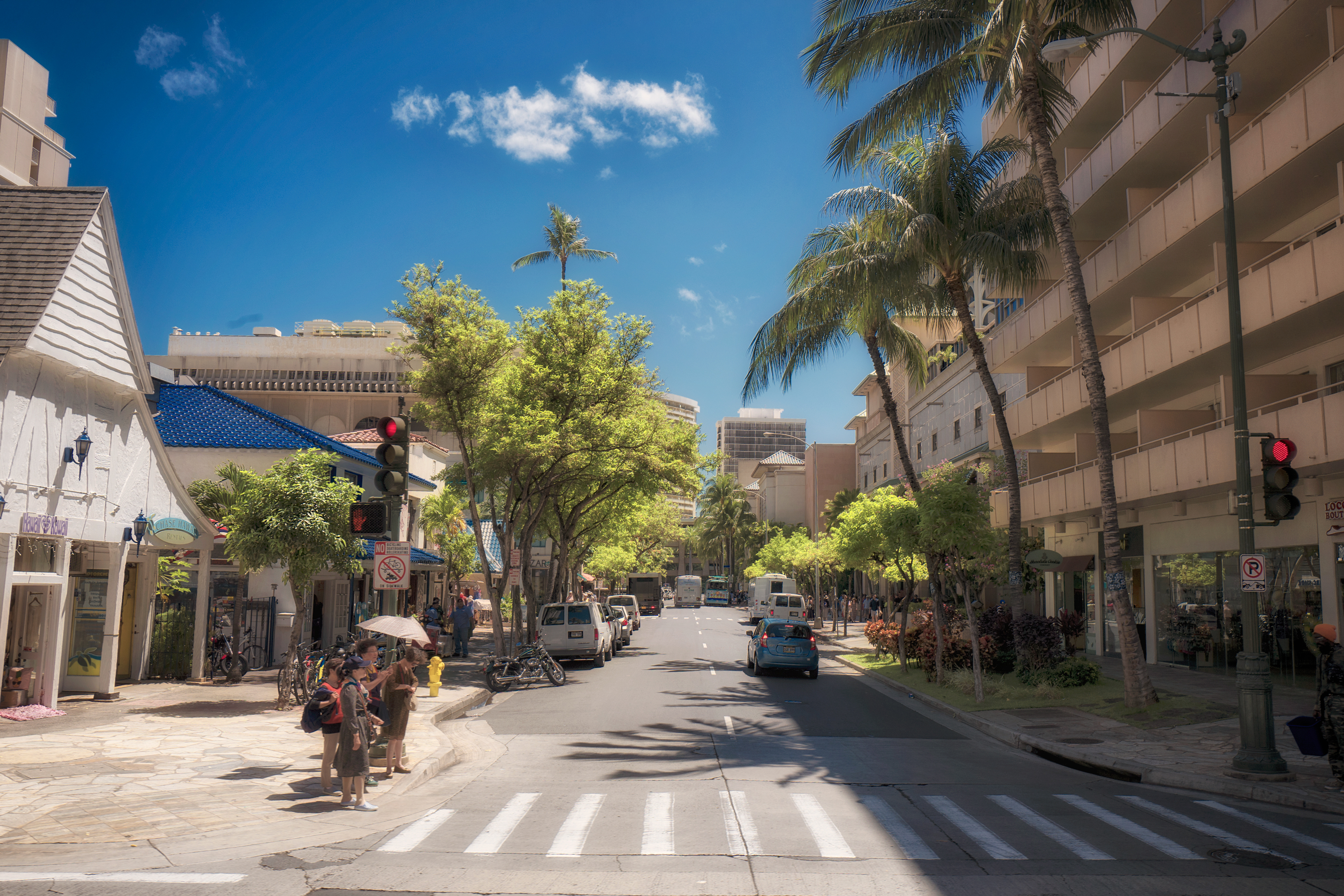 Royal Hawaiian Ave.