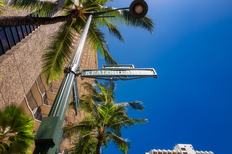 Street Sign, Kuhio Ave.