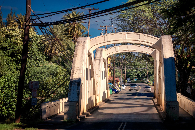 Anahulu Stream Bridge, Haleiwa