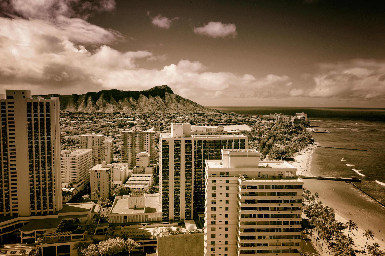 Monochrome Waikiki